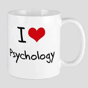 I Love PSYCHOLOGY Mug
