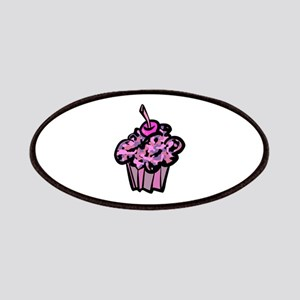 Pinks And Purples Camouflage Cupcake Patches