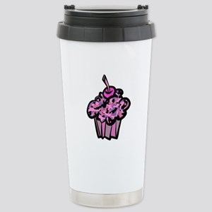 Pinks And Purples Camouflage Cupcake Stainless Ste