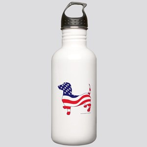 Patriotic Dachshund Stainless Water Bottle 1.0L