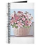 Floral Basket Journal