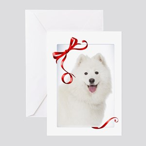 Samoyed Christmas Greeting Cards