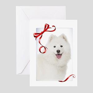 Samoyed Christmas Greeting Cards