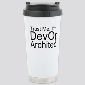 Trust Me, I'm A DevOps Architect Travel Mug