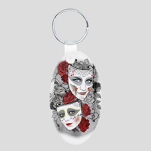 Waif & Arya Masks Keychains