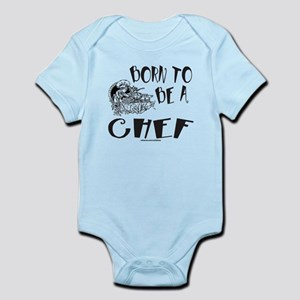 BORN TO BE A CHEF Infant Bodysuit