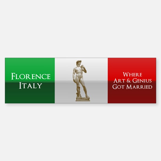Florence, Italy Sticker (Bumper)