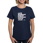 Trini Food Favs! Women's T-Shirt