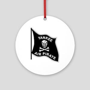 Yankee Air Pirate Ornament (Round)