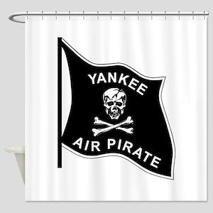 Yankee Air Pirate Shower Curtain