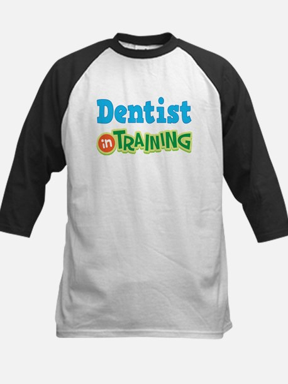 Dentist In Training Kids Baseball Jersey