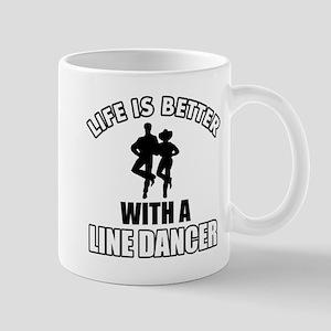 Line silhouette designs Mug