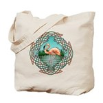 Celtic Flamingo Art Tote Bag