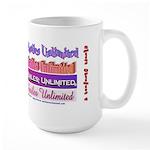 Smiles Unlimited Large Mug