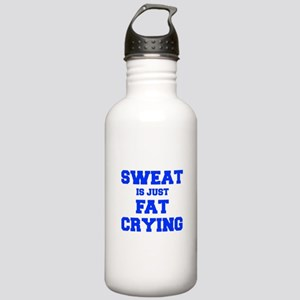 sweat-is-just-fat-crying-fresh-blue Water Bottle