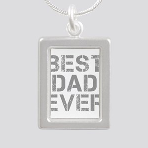 best-dad-ever-CAP-GRAY Necklaces