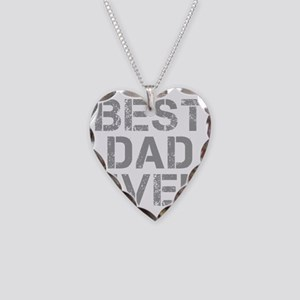best-dad-ever-CAP-GRAY Necklace