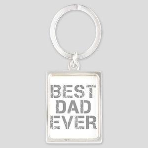 best-dad-ever-CAP-GRAY Keychains