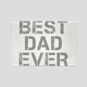 best-dad-ever-CAP-GRAY Rectangle Magnet