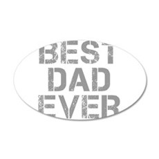 best-dad-ever-CAP-GRAY Wall Decal