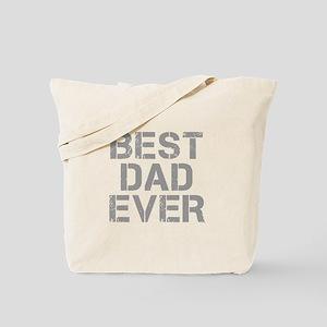 best-dad-ever-CAP-GRAY Tote Bag