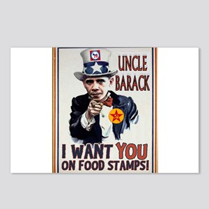 UNCLE BARACK Postcards (Package of 8)