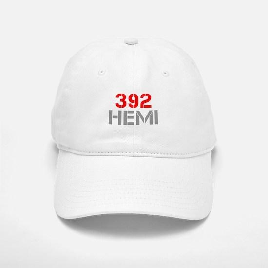 392-hemi-clean-red-gray Baseball Baseball Baseball Cap