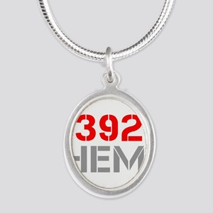 392-hemi-clean-red-gray Necklaces