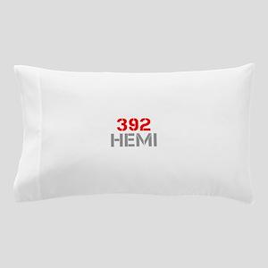 392-hemi-clean-red-gray Pillow Case
