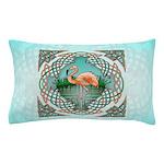 Celtic Flamingo Art Pillow Case