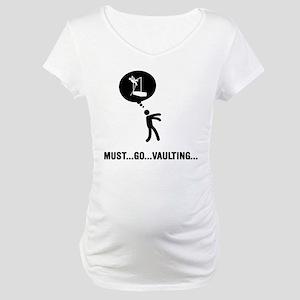 Pole Vault Maternity T-Shirt