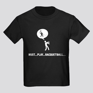 Racquetball Kids Dark T-Shirt