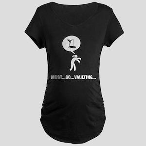 Pole Vault Maternity Dark T-Shirt
