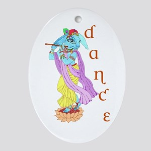 Hare Krishna Dance ! Ornament (Oval)