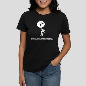 Parkour Women's Dark T-Shirt