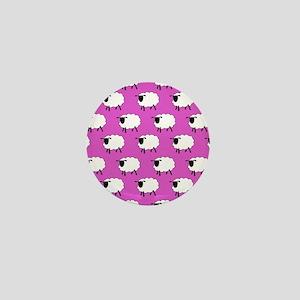 'Sheep' Mini Button