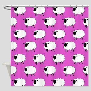 'Sheep' Shower Curtain