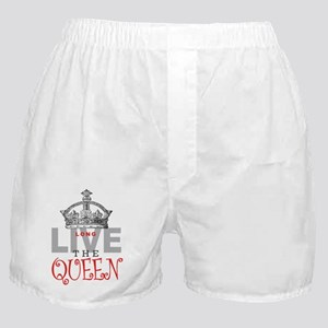 Long Live the QUEEN Boxer Shorts