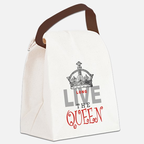 Long Live the QUEEN Canvas Lunch Bag