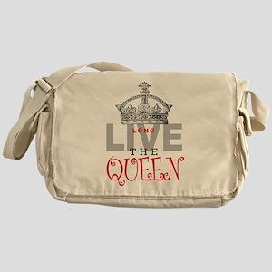 Long Live the QUEEN Messenger Bag