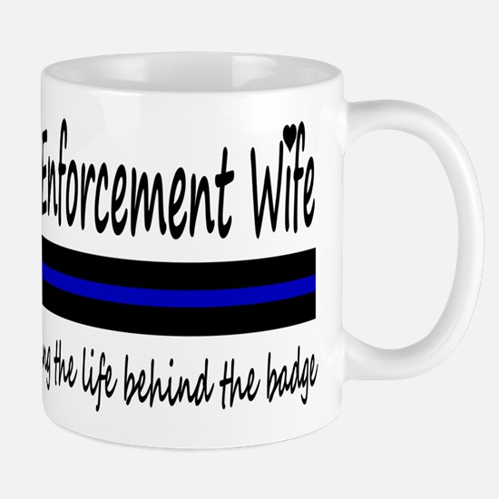 Law Enforcement Wife Mug