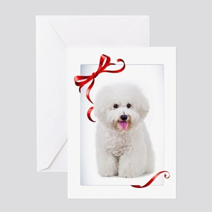 Bichon Christmas Greeting Cards