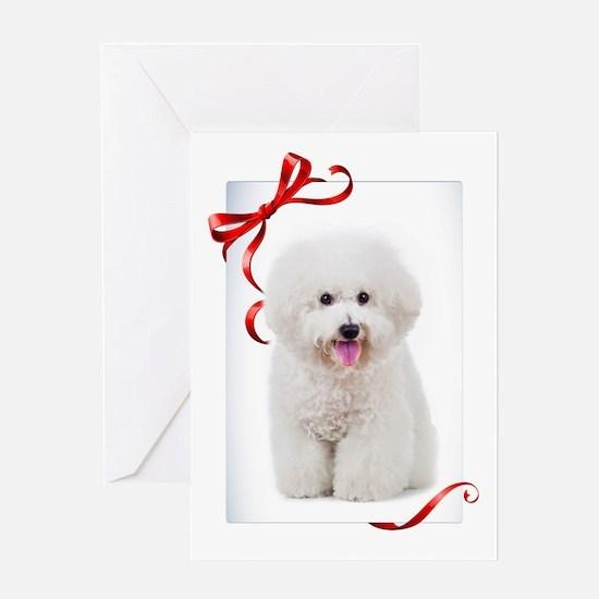 Bichon Christmas Greeting Cards