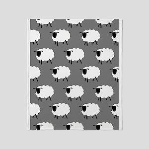'Sheep' Throw Blanket