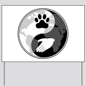 Universal Animal Rights Yard Sign