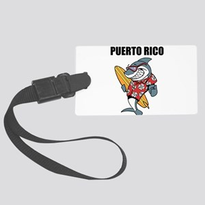 Puerto Rico Luggage Tag