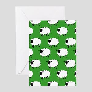 'Sheep' Greeting Card