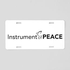 peacedove Aluminum License Plate