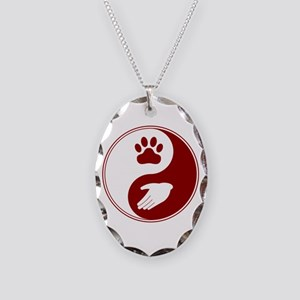 Universal Animal Rights Necklace Oval Charm