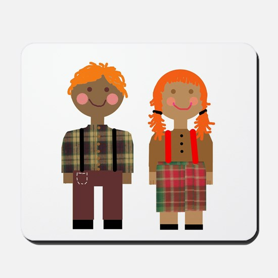Ann and Andy 2 Mousepad
